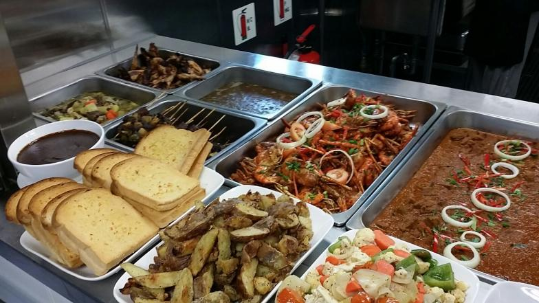 Catering offshore